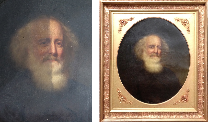 Painting Restoration Before And After Gallery
