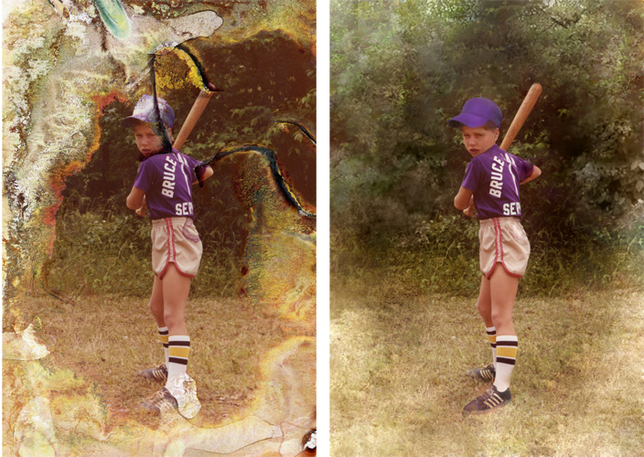 Digital Photographic Reconstruction And Restoration Before